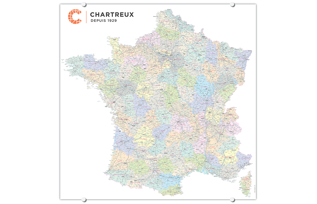 France Chartreux carte